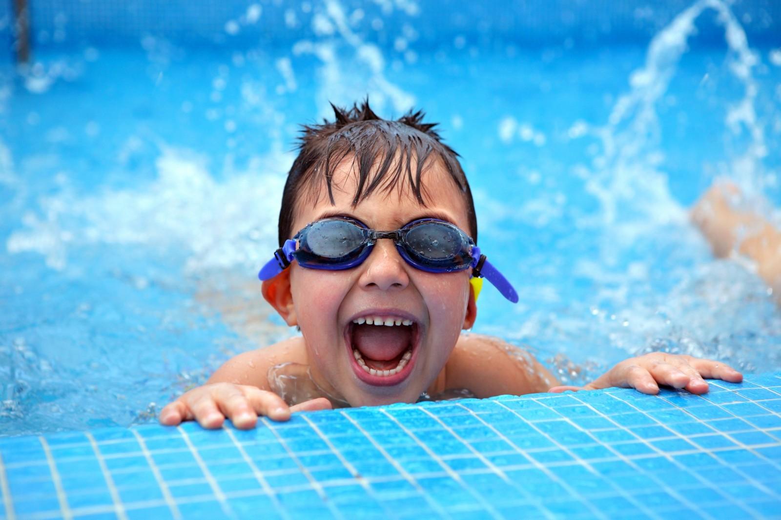 learing swimming